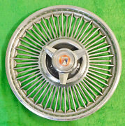 1963 1964 1965 Ford Galaxie Mustang Fairlane Falcon Orig 14 Wire Wheel Cover