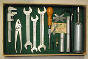 Triumph Tr3 Tr3a Tr3b Complete Tool Kit With Display Box