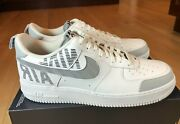 Nike Air Force 1 '07 Lv8 2 Under Construction White Grey Bq4421 100 Size 14