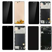 For Samsung A31 A51 A71 Lcd Display Digitizer Glass Screen Frame Replacement Qc