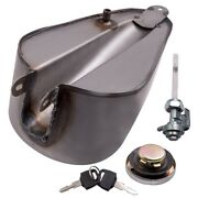 Front Iron 5l 1.5 Gallon Gas Tank For Harley Sportster Ironhead Bobber 55-78