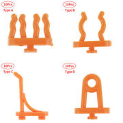 10 Wall Mount Pegboard Hooks Tool Storage Parts Hanging Sign Display Sorting Box
