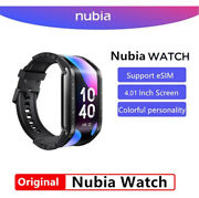 Original Nubia Watch 4.01'' Amoled Flexible Wrist Mobile Cell Phone Watch Us