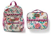 Matilda Jane With My Friends Backpack With Lunch Time Lunchbox Set Nwt
