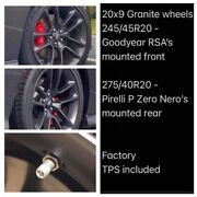 2020 Charger Challenger Scat Pack Oem Wheels With Tires Granite New