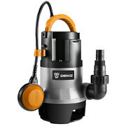 Submersible Water Pump 1/2hp Thermoplastic Utility Sump Pump W/long 16ft Cable