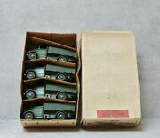 Trade Box Of 4 Dinky 25wn Bedford Militarytrucks Us Export Ultra Rare All Mint