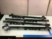 15-20 Toyota Sienna Rear 2nd Second Row Seat Track Rails Set Of 4 Oem E P