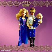 Barbie As Sleeping Beauty Ken, Charming And Kelly Rare Collectable 2006/7