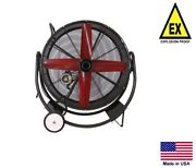 Drum Fan Explosion Proof - Dolly Mounted - 36 - 230/460v - 3 Phase - 12100 Cfm