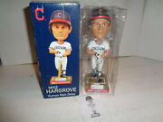 Cleveland Indians, Mike Hargrove Bobblehead, 7 Tall With Bat, 2011 In Box