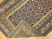 Antique Caucasian Shirvan Kazak Kuba Rug Size 3and0392and039and039x4and0397and039and039