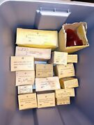 New Old Stock Lot Of Vehicle Lenses And Lamps Lot Of 40+ Items