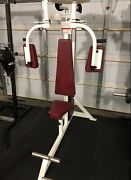 Vertical Pec Fly - Bodymasters Pec Deck Butterfly Machine Commercial