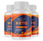 3 Pack Official Keto Gt Bhb Ketones 1 Bottle Package 30 Day Supply