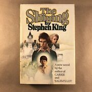 The Shining, Stephen King Stated First Edition, R49 1977, Hardcover In Jacket