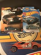 Hot Wheels 2018 Super Treasure Hunt '92 Ford Mustang Fast And Furious