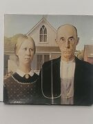 American Gothic By Grant Wood Vtg 1972 Springbok 500+ Piece Jigsaw Puzzle Rare