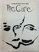 The Cure Songwords 1978-1989 By Robert Smith Omnibus Press 1995 Paperback