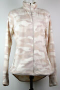 Nwot Old Navy Light Pink Camo Fleece Full Zip-front Jacket Womenand039s L Tall