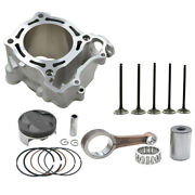 For Yamaha Yz250f Wr250f 03-13 Cylinder Piston Rings Valves Connecting Rod Kit