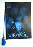 1998 Doctor Whoand039s Who Souvenir Poster Collection Cineffigy Official Publication