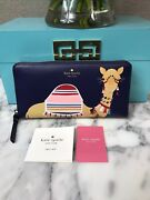 Nwt Kate Spade Spice Things Up Camel Neda Continental Zip Wallet