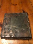 Paul Evans Humidor Argente Signed Mixed Metalwork Box In Beautiful Condition.
