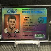 2020-21 Panini Contenders License To Dominate Devin Booker Case Hit Ssp