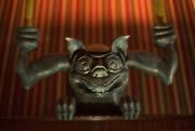 Ride Accurate Gargoyle Haunted Mansion Stretching Room Prop Electric Candle 50th