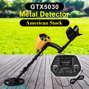 Ground Search Metal Detector With 8 Inch Waterproof Coil And 3 Accessories Free