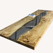 Custom River Coffee Table/epoxy Table/river Table Acacia Wooden Epoxy Table Tops