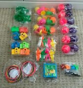 Party Bag Toys Bouncy Ball Parachute Men Squirting Ring Camera Bands Popper