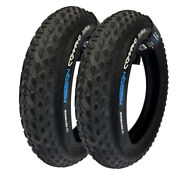 Two Vee Tire Mission Command 20x4.0 Bicycle E-bike Tire Wire Bead Multi Compound