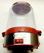 Cuisinart Cpm-700 Easypop Electric Rotating Popcorn Maker Red Up To 16 Cups