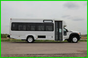 2012 Ford F-450 23 Passenger Shuttle Bus - Cng-powered Only 83k Miles