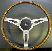 1967 Ford Mustang Mark 3 Eleanor Cobra Steering Wheel With Adapter Horn And Emblm