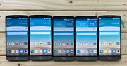 Lot Of 5 Mint Lg G3 - 32gb - Atandt Tmobile Unlocked D850 - Android Smartphone