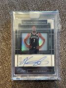 2019-20 Panini One 1st Team Signatures Auto 22/25 Kevin Durant Brooklyn Nets