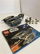 Lego Star Wars General Grievous Starfighter 8095 With Instructions