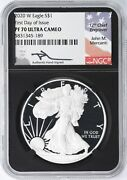 2020 W Silver Eagle Ngc Pf70 Uc First Day Issue - Retro Core Mercanti 189