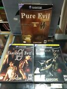 Pure Evil 2-pack Nintendo Gamecube Includes Resident Evil And Re0 Complete Big Box