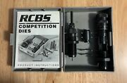 Rcbs .308 Winchester Competition Sizer And Setting Dies