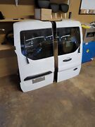 Passenger And Driver Rear Back Door Rh And Lh Fits 14-20 Transit Connect