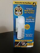 Air Police Compact Wall Outlet Air Purifier Plugin Night Light New In A Box