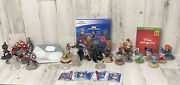 Disney Infinity Lot Xbox One Figures Levels Cards Game. Star Wars Marvel Disney