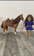 American Girl Horse And Doll + Horse