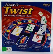 2007 Phase 10 Twist Game By Fundex New Old Stock Free Shipping