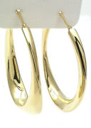 Hoop Earrings Special Needs Fidget Yellow Gold 18 Ct From Gioielleria Amadio