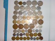 - Mexico Coin Lot Of 62 Old And New Coins - Full Range - Many Rare -1939 - 2012